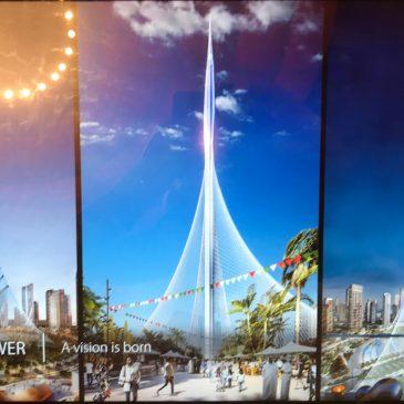 Dubai: dit gebouw wordt meer dan 1 km hoog