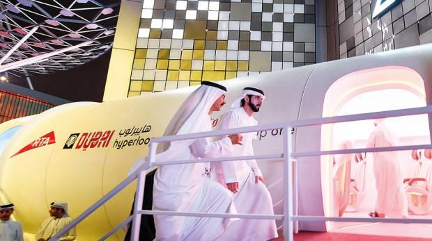 Hyperloop in Dubai